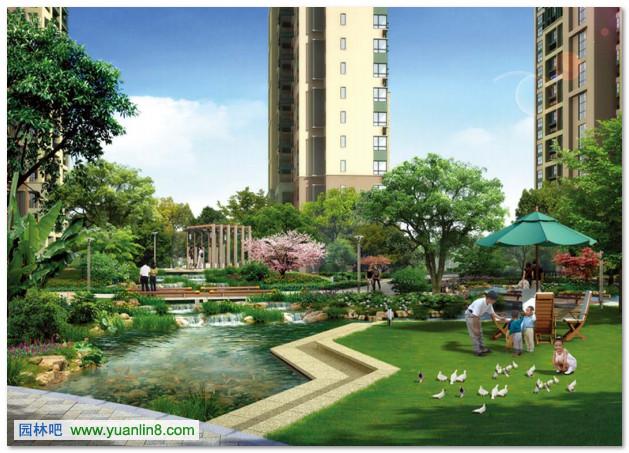 获奖单位:深圳市华森建筑工程咨询有限公司 作品类别:居住区环境设计图片
