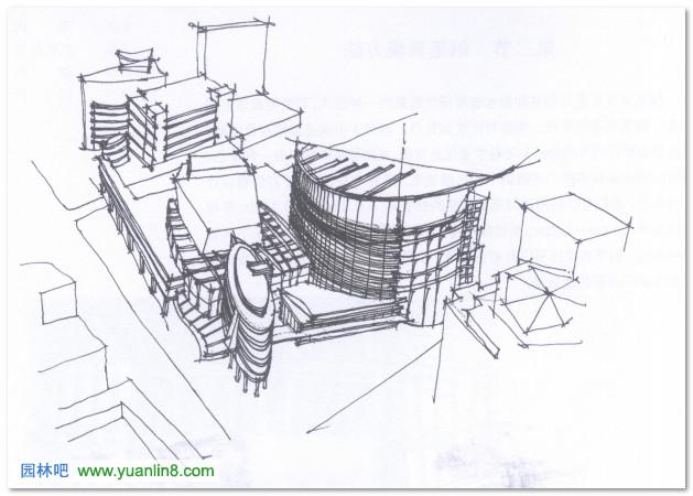 工程图 简笔画 平面图 手绘 线稿 629_450