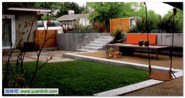 别墅庭院设计-时尚大变身 modern transformation